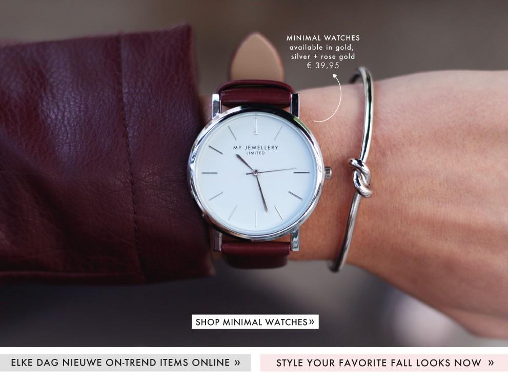 Minimal Watcheskopen bij My Jewellery, horloges
