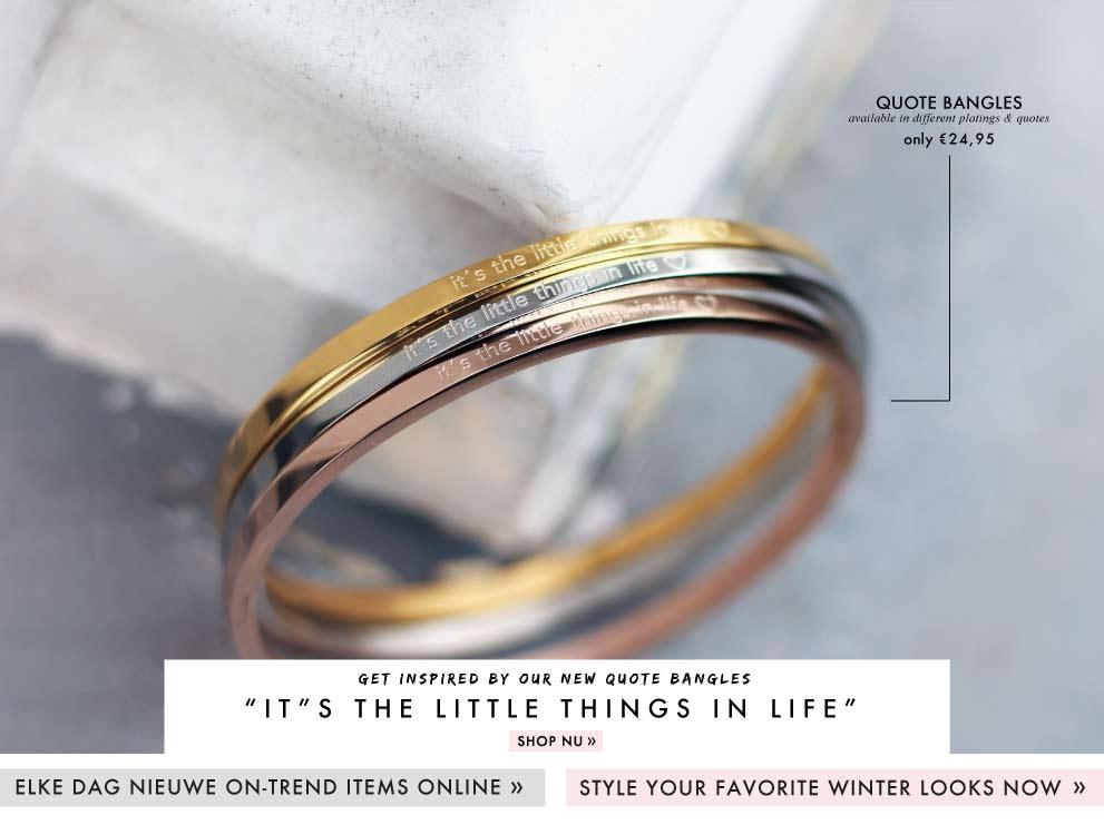 Initial Coin Bracelet kopen bij My Jewellery, armbandjes