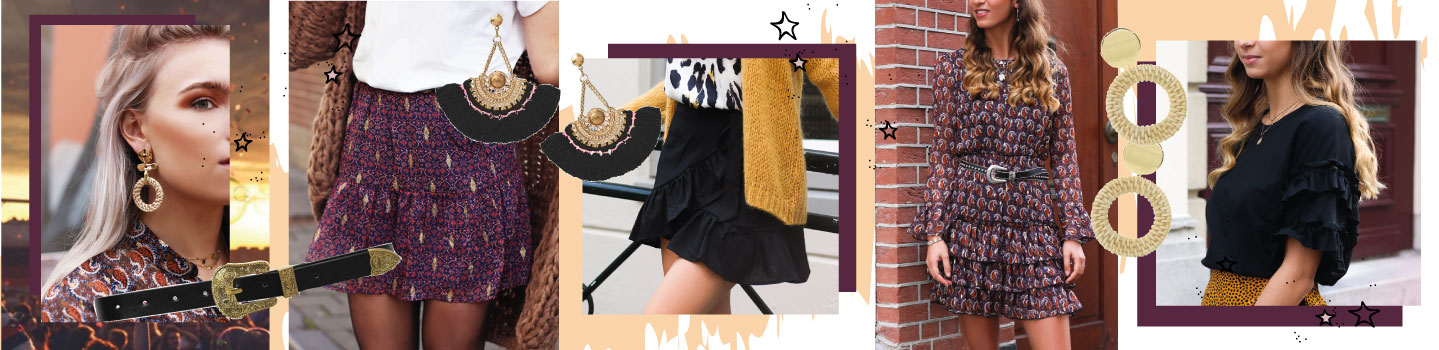 Festival outfit: Trend Bohemian