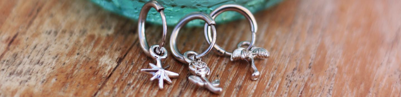 One piece earrings