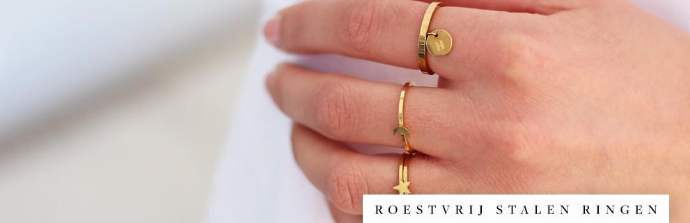 Roestvrijstalen ringen