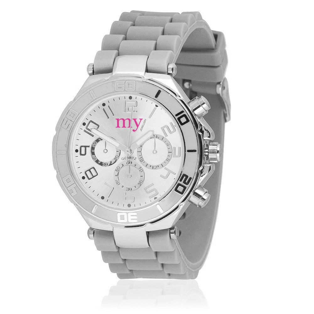 My Jewellery Watch - Silver/Light Grey