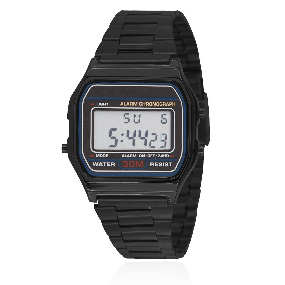 Classic Digital Watch - Black