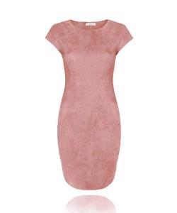 Suedine Dress 2.0 Old Pink
