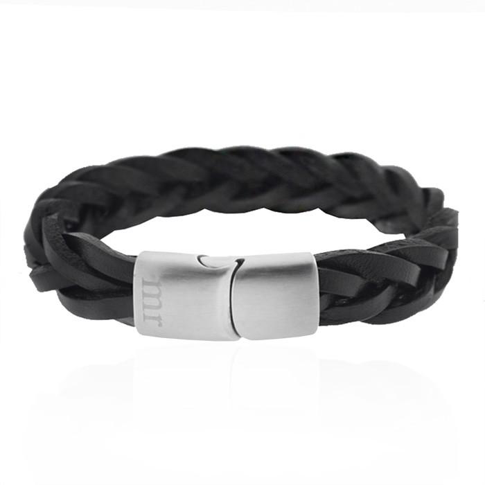 Afbeelding van Armband gevlochten heren, armbanden