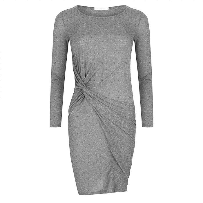 Knot Dress Light Grey