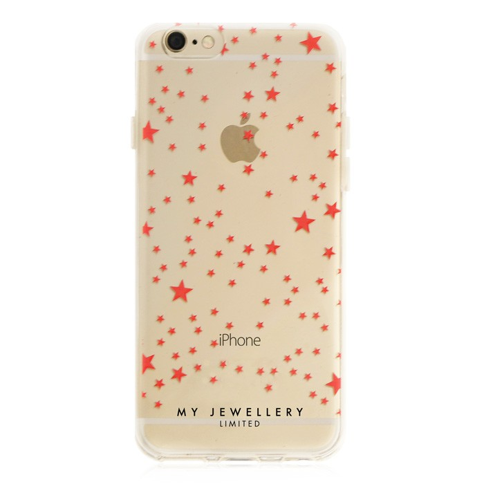 Little Stars Case Red Iphone