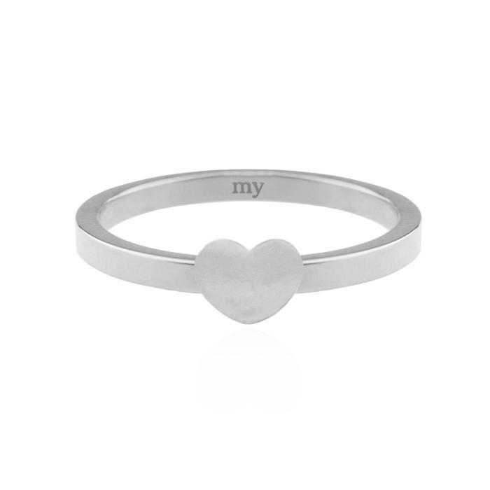 Little Heart Ring - Silver