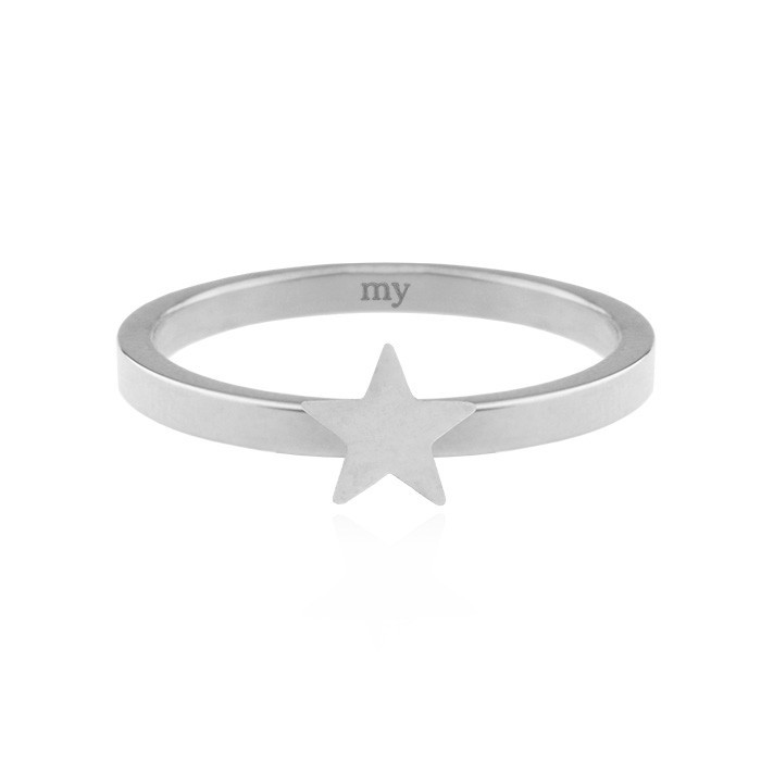 Little Star Ring Silver