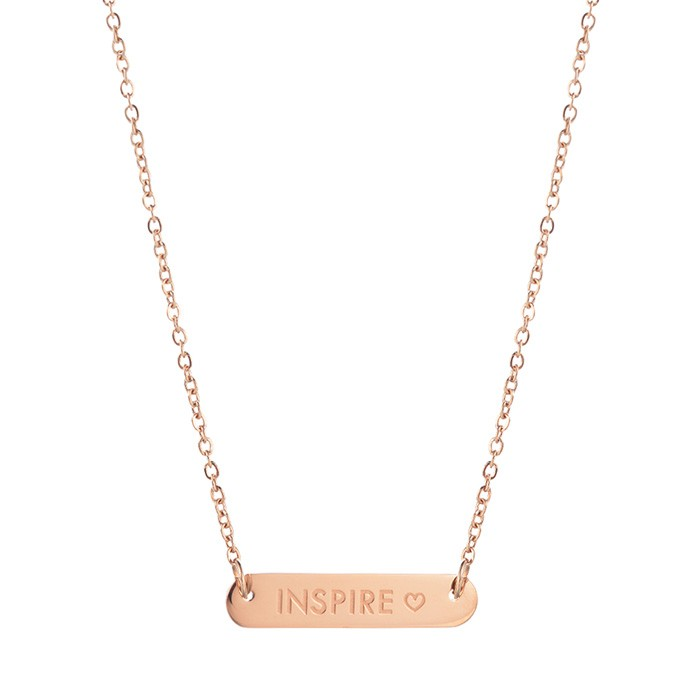 Bar Quote Necklace Mama - Gold/Silver/Rose