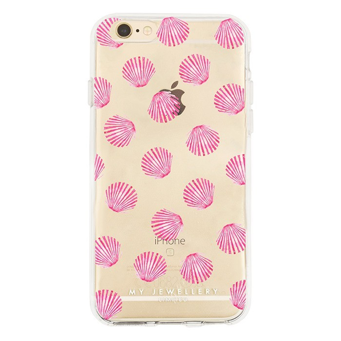 Pink Shell Case Iphone