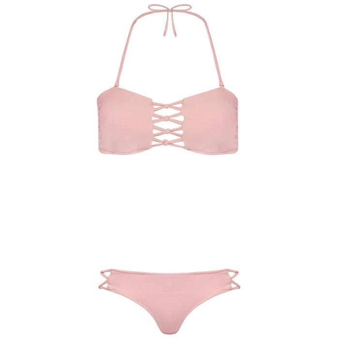 Laced Bikini - Pink