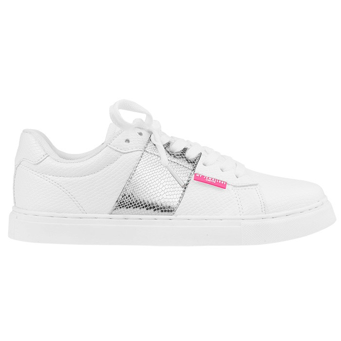 My Jewellery Sneakers White Silver