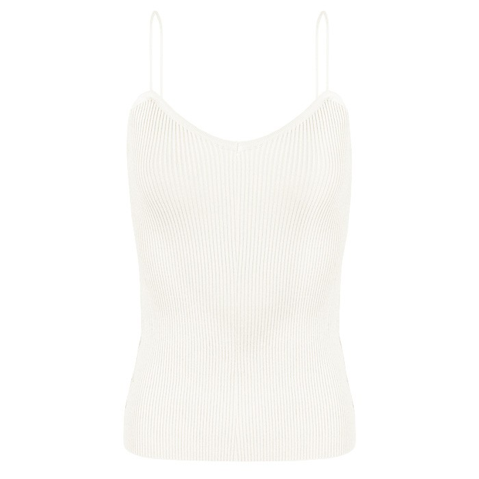 Bodycon Top - Creme