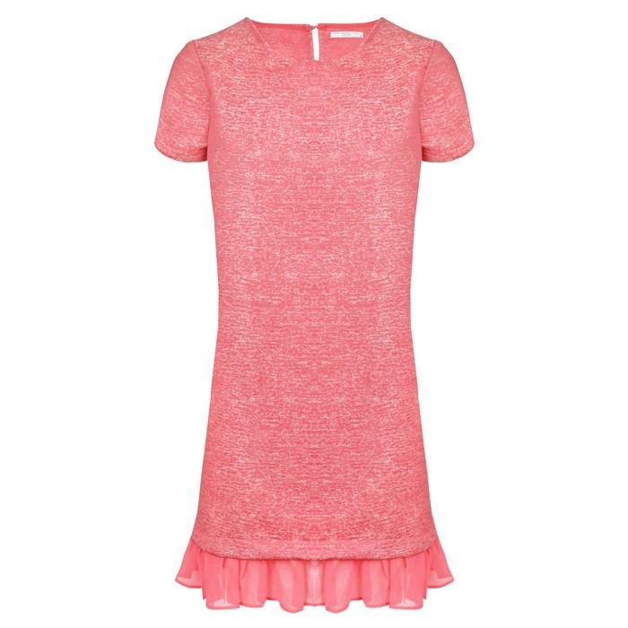 Chique Ruffle Dress - Pink