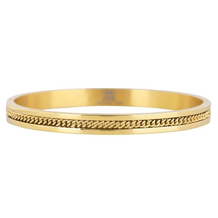 Afbeelding van Armband bangle ketting zilver goud rose, bangles