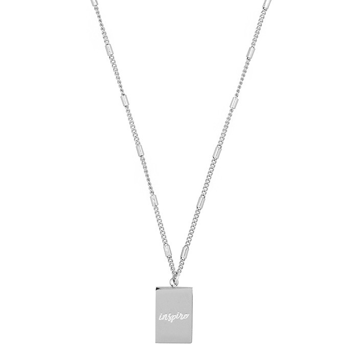 Inspire Charm Necklace - Gold/Silver