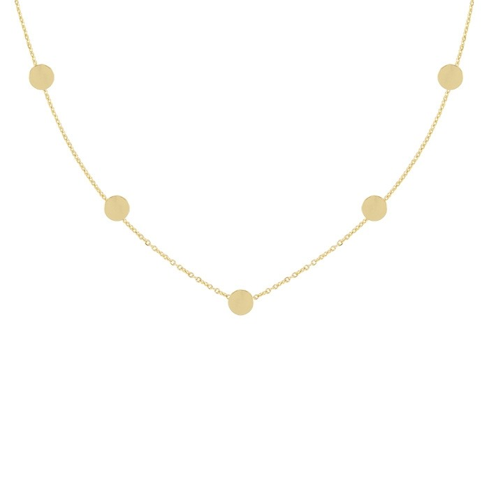 Coins Necklace 2.0 - Gold/Silver