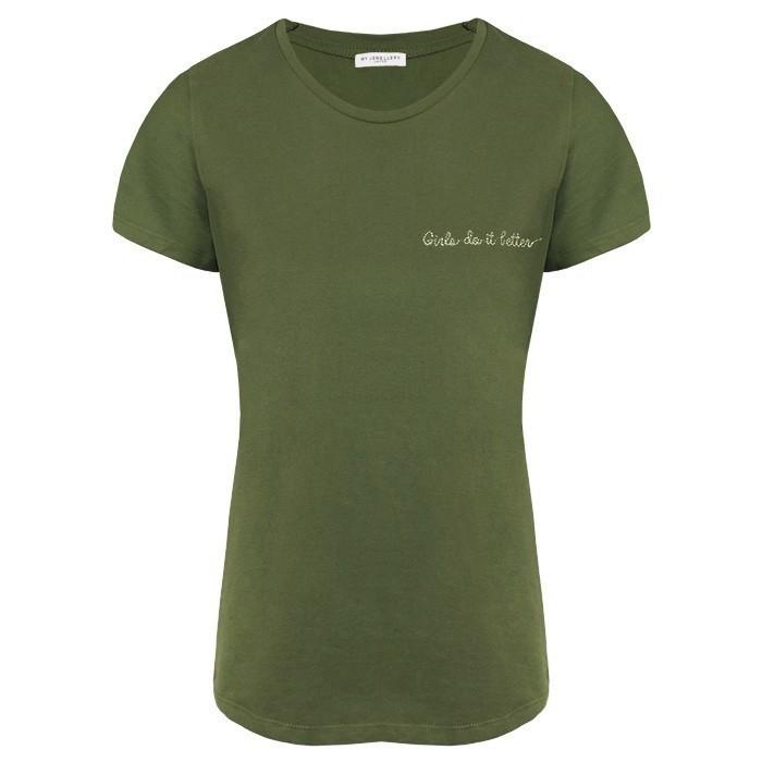 Girls T Shirt Army