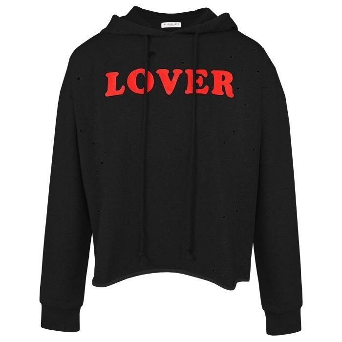 Destroyed Lover Hoodie Black