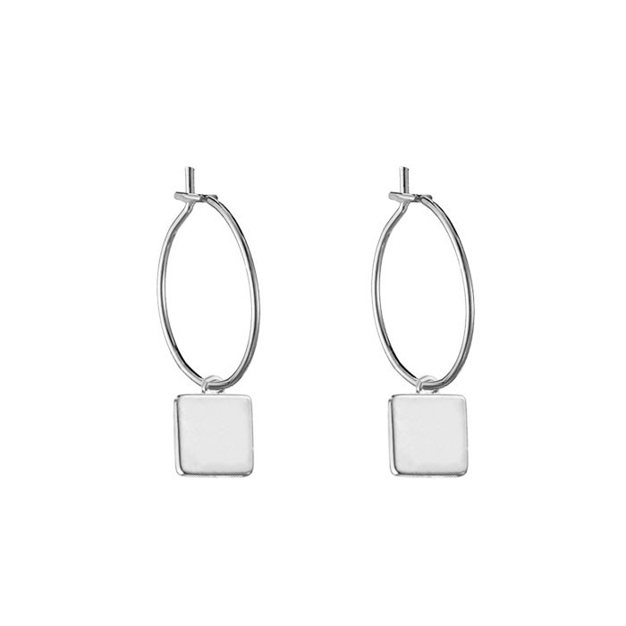 Square Earrings - Gold/Silver