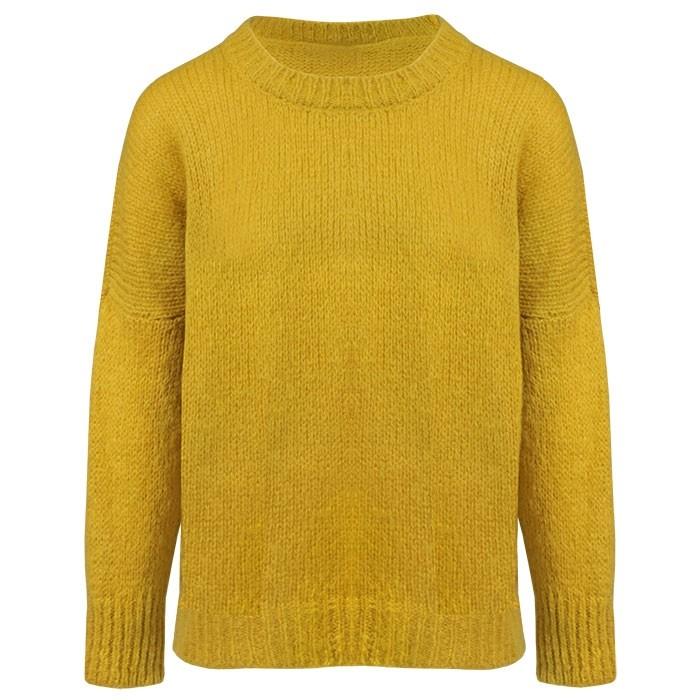 Knitted Sweater Ocher