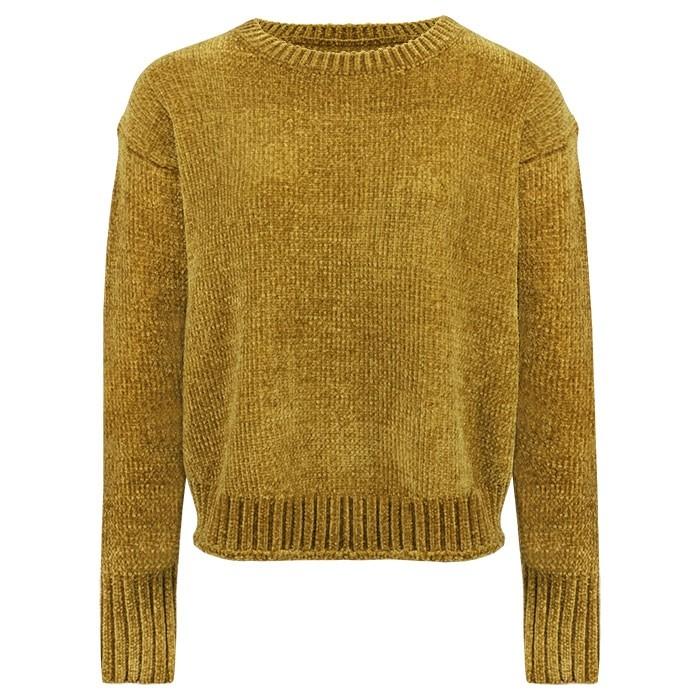 Chenille Sweater - Yellow