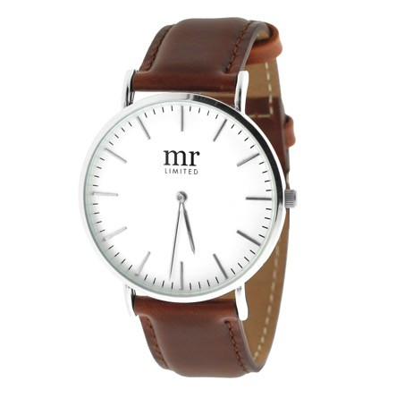 Mr. Jewellery Minimal Watch - Brown