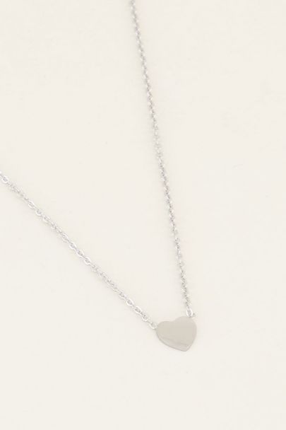 Ketting klein hartje, Minimalistische ketting My jewellery