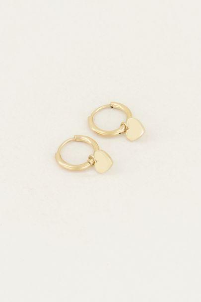 Ohrringe mit Herz| Herz-Ohrringe| My Jewellery