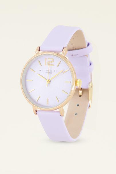 Lila horloge | Dames horloges | My Jewellery