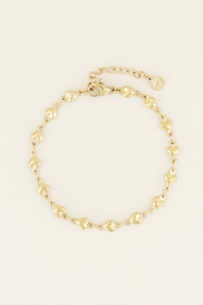 Armbandje hartjes | Dames armbandjes | My Jewellery