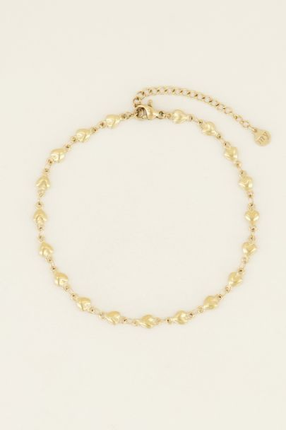 Fußkettchen Herzen| My Jewellery