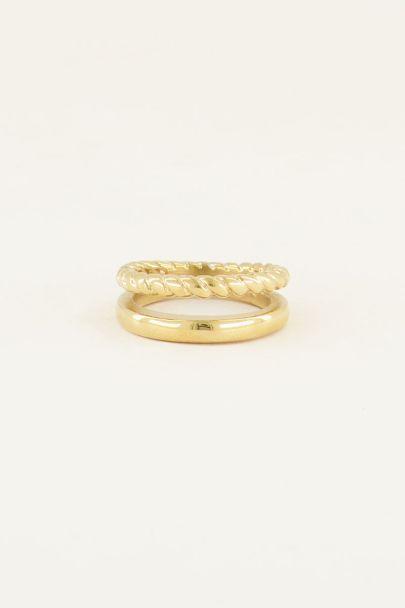 Dubbele ring | Ringen | My Jewellery