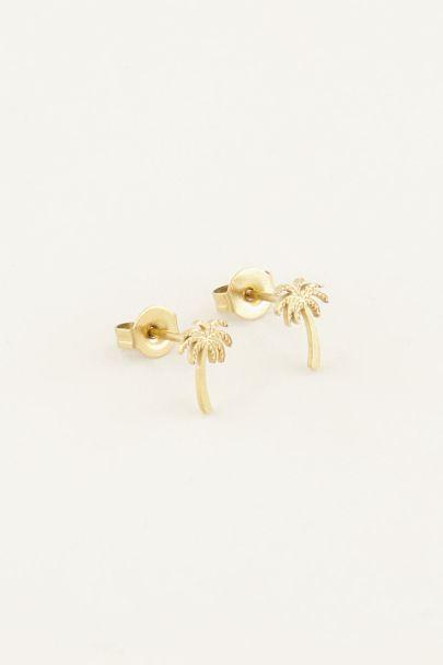 Palm tree studs | My Jewellery