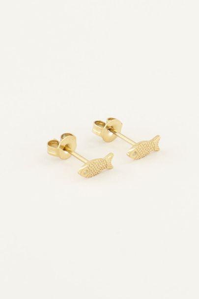 Fish studs | Studs | My Jewellery