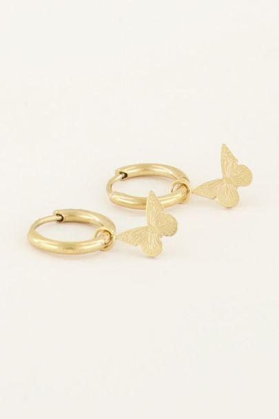 Oorbellen vlinder | My Jewellery