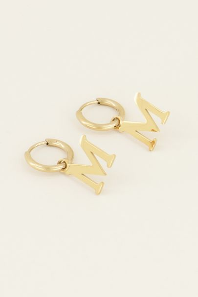 Initial earrings | Earrings | My Jewellery