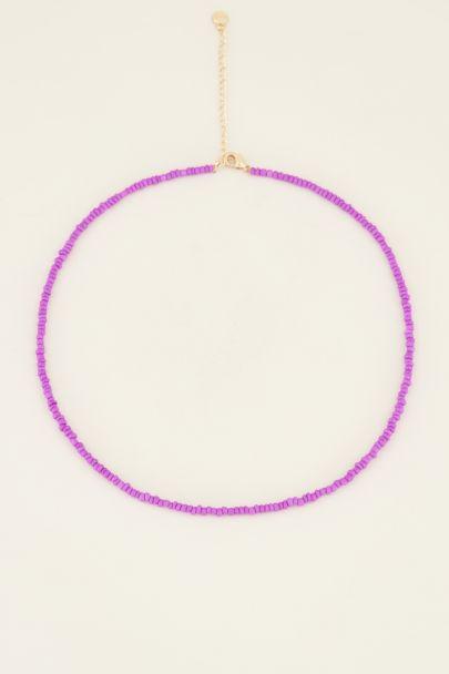 Moments kralen ketting paars | My Jewellery