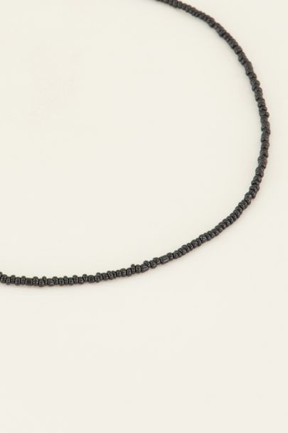 Moments kralen ketting zwart | My Jewellery