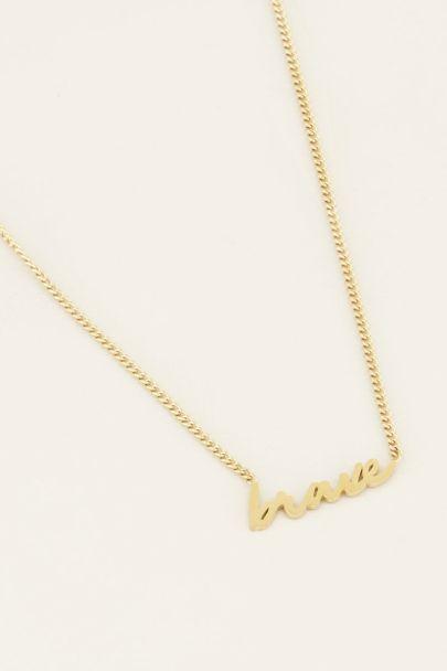 Brave Halskette | My Jewellery