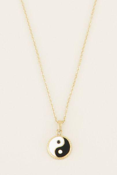 Ketting yin yang   Kettingen   My Jewellery