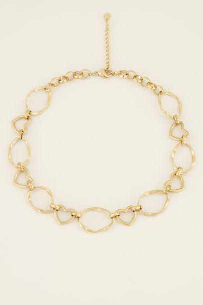 Ketting met hartjes | Dames ketting | My Jewellery