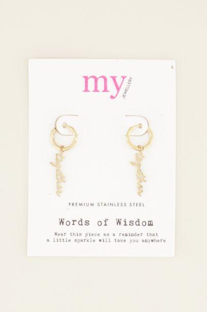 Together earrings | Earrings | My Jewellery