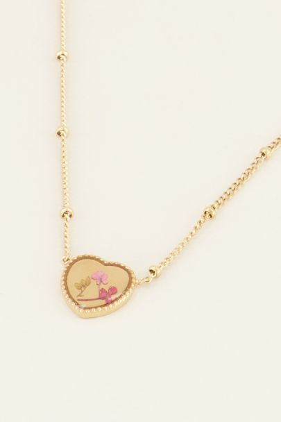 Ketting wildflower hartje | Kettingen | My Jewellery
