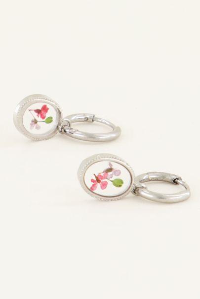 Oorringen daisy rond | Oorringen | My Jewellery