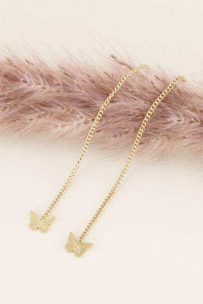 Oorhangers vlinder | Oorhangers | My Jewellery