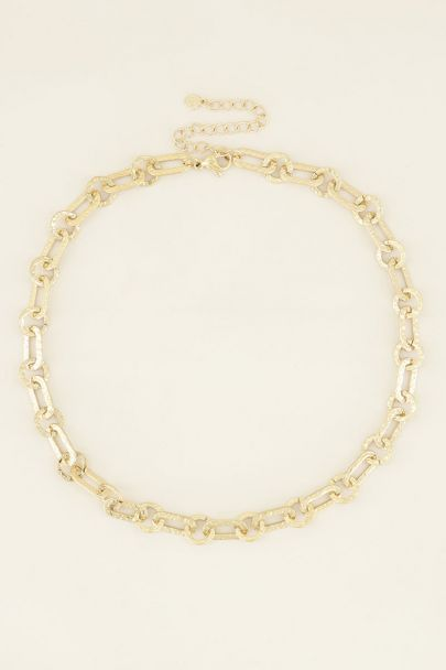 Ketting kleine schakels ovaal   My Jewellery