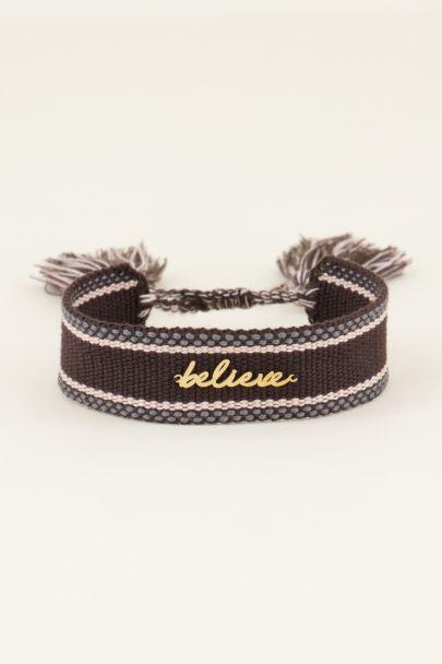 Bohemian armbandje believe | My Jewellery