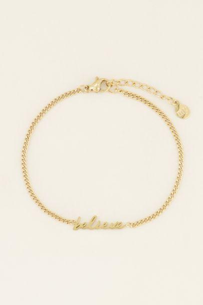 Armband believe kopen | My Jewellery